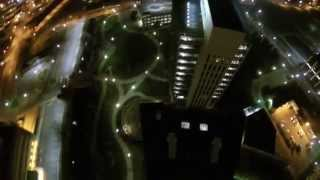 preview picture of video 'Dji Phantom 2 Night Flight Over Jackson,Michigan'