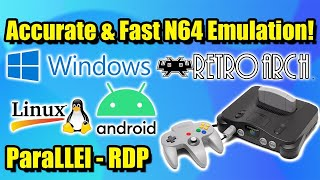 Accurate & Fast N64 Emulation! How to set up the New ParaLLEl - RDP Core in RetroArch