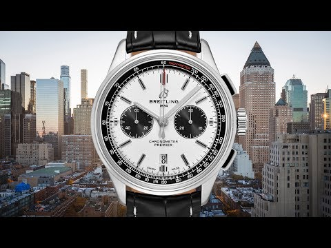 BREITLING'S NEW DIRECTION: Breitling Premier B01 Chronograph 42