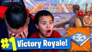 MINDOFREZ GETS EXPOSED BADLY BY HIS 9 YEAR OLD LITTLE BROTHER! *NEW* BOUNCER FORTNITE BATTLE ROYALE!