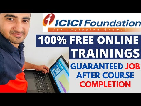 ICICI BANK Offers Free Online Trainings   ICICI Skill Academy ...