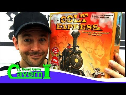 "How to play ""Colt Express"" - Board Game Cavern"