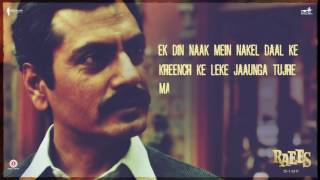 Raees Ki Dialogue Baazi  Shah Rukh Khan Nawazuddin Siddiqui  Releasing 25 January