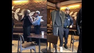 FULL VIDEO Of 2 Black Guys Being Arrested At Starbucks In Philadelphia LEAKED!!
