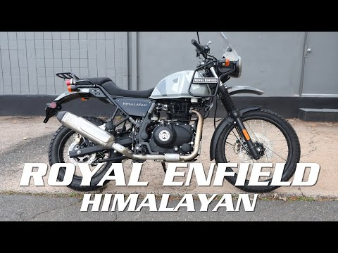 2021 Royal Enfield Himalayan 411 EFI ABS in Enfield, Connecticut - Video 1