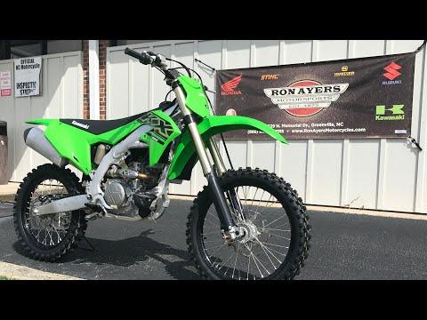 2021 Kawasaki KX 250 in Greenville, North Carolina - Video 1