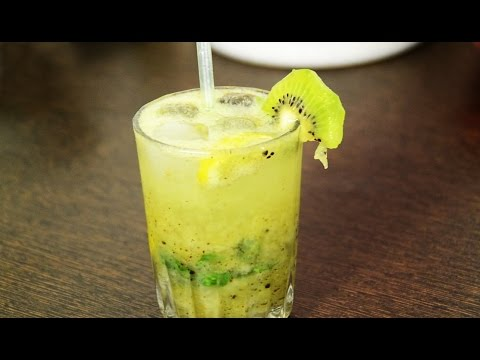 Video Kiwi Mojito Recipe / Kiwi Mocktail Recipe