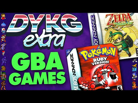 Game Boy Advance (GBA) Game Facts