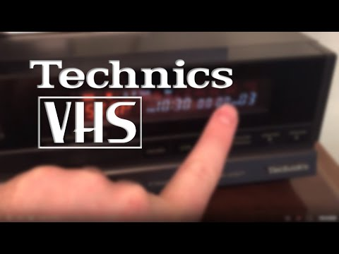 Insane Technics VHS VCR with