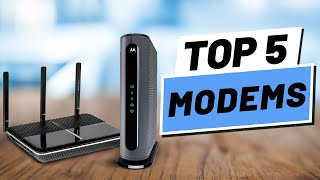 Top 5 Best Modems of [2020]