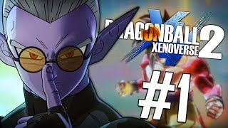 THIS is What Xenoverse 3 Should STRIVE to be!! | Dragon Ball Xenoverse 2 DLC 6 Story Mode - PART 1