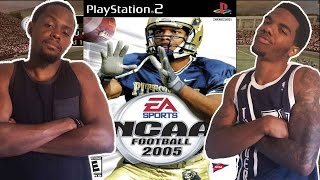 SOMETHINGS NOT RIGHT!  - NCAA Football 2005 (PS2)   #ThrowbackThursday ft. Juice
