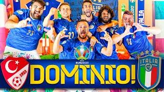 DOMINIO!!! 🇹🇷TURCHIA 0-3 ITALIA🇮🇹   LIVE REACTION ELITES HD