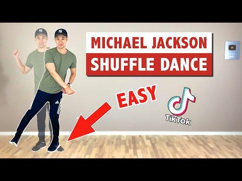 Michael Jackson Shuffle Dance (EASY Tutorial) | Popular Dance ...