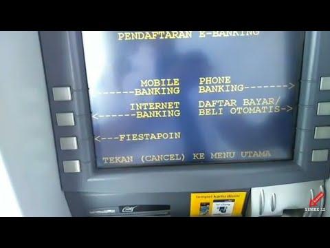 """ TUTORIAL DAFTAR INTERNET BANKING BANK MANDIRI"" - LEWAT ATM.."