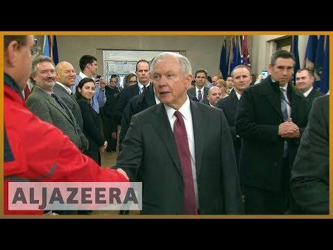 🇺🇸 US Attorney General Jeff Sessions resigns at Trump's request | Al Jazeera English
