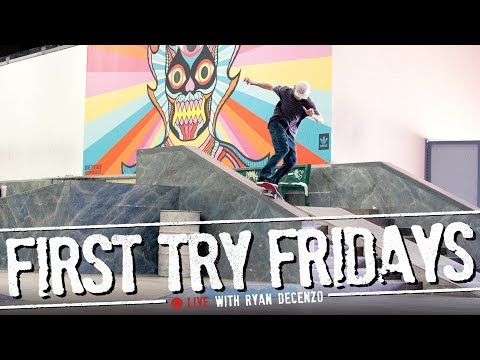 Ryan Decenzo - First Try Friday... LIVE!