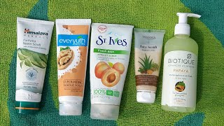 Top 5 Affordable Face Scrub Review, Face Scrub For Summers & Winters &  Monsoon For Every Skin Type
