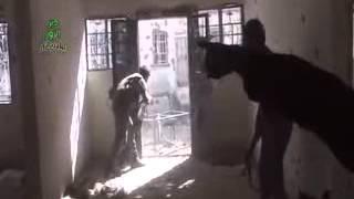 preview picture of video 'بشائر النصر لا يفوتك مشاهدة هذا المقطع الرهيب على جبهة حي العمال دير الزور'