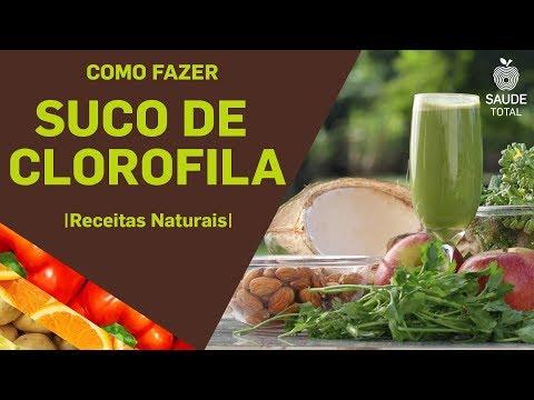 Como fazer suco de Clorofila | Receitas Naturais | Saúde Total