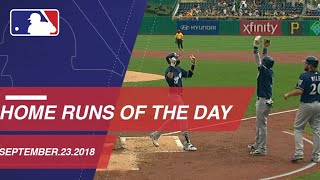 Watch all the home runs from September 23, 2018 - Video Youtube