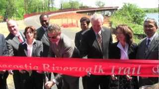 Anacostia Riverwalk Trail Bridge Opening