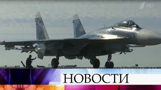 Народину изСирии возвращается звено бомбардировщиков Су-24М имедотряд специального назначения.