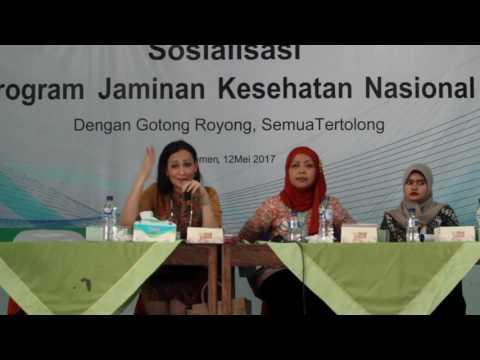 Penyuluhan BPJS ketenagakerjaan di Kecamatan Ayah Kabupaten Kebumen