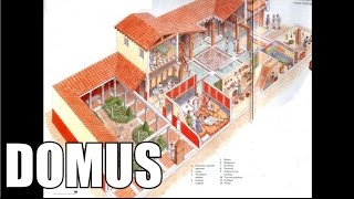 The Roman Domus - The Houses Of The Wealthy Families