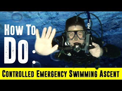 How to do a Controlled Emergency Swimming Ascent: CESA