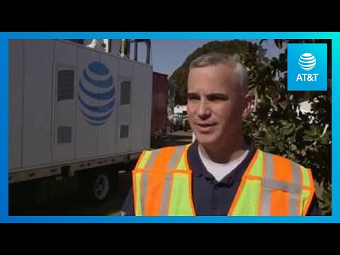 AT&T Provides Communication to Firefighters in California | AT&T -YoutubeVideoText