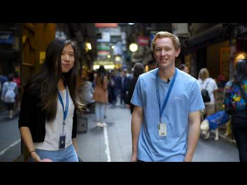 A day in the life of Bachelor of International Business students