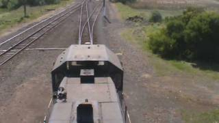 preview picture of video 'ElZorro shunting wagons at portland'