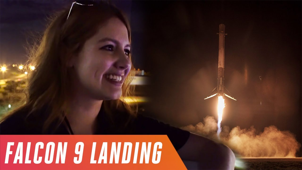 Watching SpaceX land a Falcon 9 rocket thumbnail