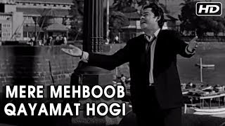 Mere Mehboob Qayamat Hogi   Mr. X In Bombay Video Songs   Kishore Kumar Hit Songs   Anand Bakshi