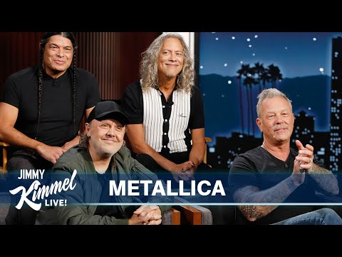 Jimmy Kimmel's Interview with Metallica