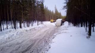 Зимник на Усинск 2017 март