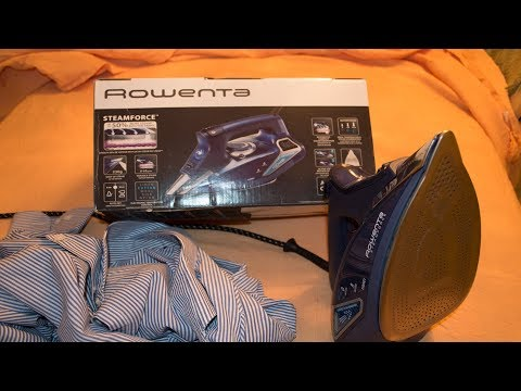 REVIEW  plancha ROWENTA steamforce DW9240 , Español