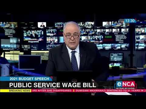 Budget Speech Mboweni sticking to his guns on public wage bill