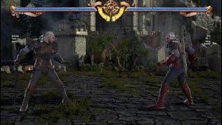 SOULCALIBUR™Ⅵ - Geralt Movelist!