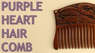 Viking Hair Comb - Making Of