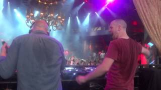 "Dada Life - ""Kick Out the Epic Mother*******"" Live @ XS Las Vegas, NV 7-14-12 DJ Booth View"
