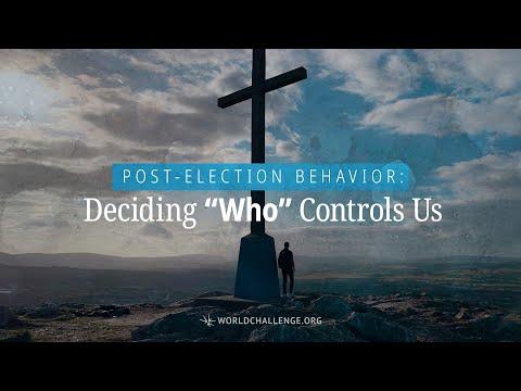 ", title : 'Post Election Behavior: Deciding ""Who"" Controls Us - Tim Dilena - November 8, 2020"