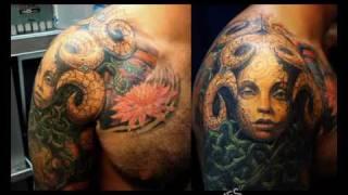 Татуировки. Tattoo. Лучшие тату - Объемные - 3D