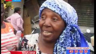 Kitengela residents wrestle for subsidized unga