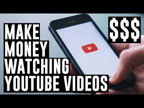 MAKE MONEY WATCHING YOUTUBE (NEW APP)