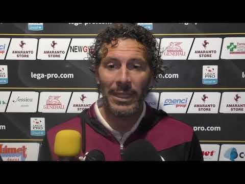 Arezzo-Albissola 2-0, intervista con mister Dal Canto