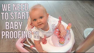 DO WE NEED TO START BABY PROOFING?! | CHRIS & EVE