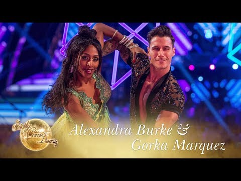 Alexandra and Gorka Samba to 'Shape Of You' by Ed Sheeran – Strictly Come Dancing 2017