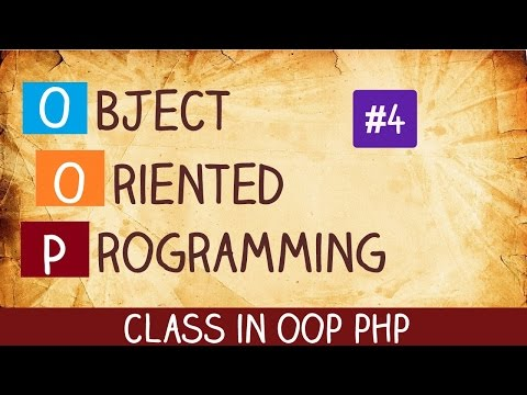 class in oop php